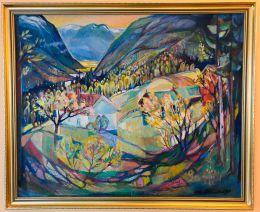 Otto Østenstad - Landskap, Telemark