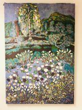 Ulla Ystehede - Landskap med blomster